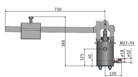 Клапан 112-25Х1-0М